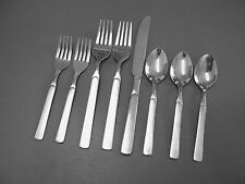 Tools Of Trade Stainless Flatware Unknown Pattern Knife Forks & Spoons FREE SHIP