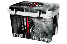 Thickest Wrap 24mil Skin Full for YETI 45qt Cooler - Ammo Skull Rd Lne - OS Sale