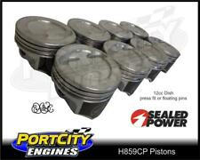 SpeedPro Piston set for Chevy 383 & Holden 355 V8 stroker 12cc dish H859CP