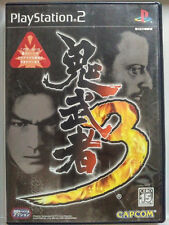 Onimusha 3 (2007) Pre-Owned Japan Playstation 2 PS2 Import