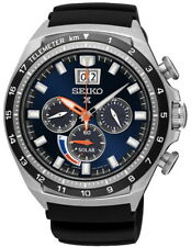 Seiko Prospex Solar Chronograph Stainless Steel Men's Watch SSC605P1