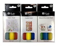 9PC Paint Set Candle Paint Glass Porcelain Paint Fabric Paint Set Art Painting
