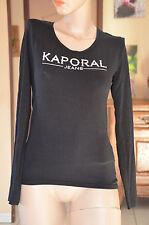 KAPORAL -Très joli haut noir manches longues - Taille S - EXCELLENT ÉTAT