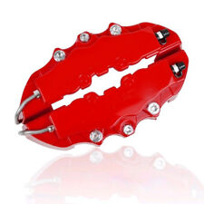 4PC Red Brembo Style Car Auto Universal Disc Brake Caliper Covers Front Rear