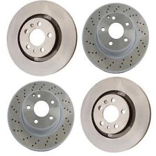 Front and Rear Disc Brake Rotors Kit Brembo For: Mercedes W220 S500 2003 - 2006