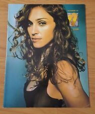 RARE MADONNA ICON FANCLUB MAGAZINE/BOOK ISSUE 27 1998 RAY OF LIGHT