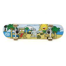"Kryptonics Skateboard Longboard 31"" x 7.5"" Easter Island Tropical Tribe Wheels"