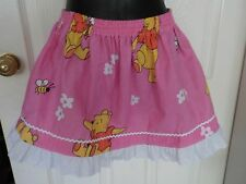 mini skirt small adult teenage gathered Winnie the Pooh Kawaii party dance skate