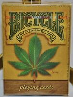 Bicycle Hemp Poker Size Playing Cards - Sealed New Deck, USPCC