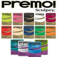 Premo & Accents 2oz 57g Polymer Clay Sculpey - BUY 4 GET 2 FREE -ADD 6 TO BASKET
