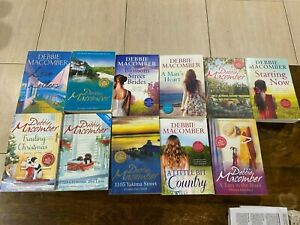 BULK LOT OF 11 DEBBIE MACOMBER BOOKS EUC Blossom Street Brides,Love Letters