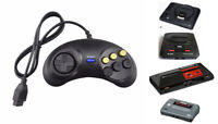 For Sega Mega Drive Genesis master System Replacement 6 Button Controller Joypad