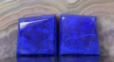 Lapis Lazuli Pair of Cabochons AA Quality