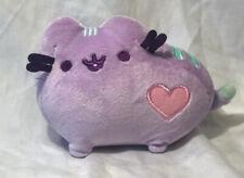 "GUND Pusheen Pastel Purple Heart Plush 6"" Cat Valentines Day Stuffed 4048874"