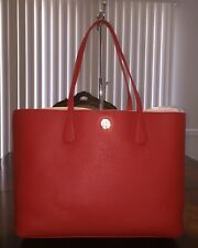 NWT Tory Burch Perry Brody Tote in Samba/Pale Apricot