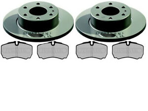 IVECO DAILY 2.3 3.0 QUALITY REAR BRAKE DISCS AND PADS - REAR SINGLE WHEEL