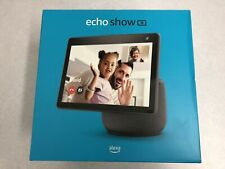 NEW - Echo Show 10 (3rd Gen) HD Smart Display with Motion and Alexa - Charcoal