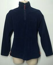 AE American Eagle 🦅 Fleece Pull Over Sweater 100% Polyester XS  Blue 1/2 Zip