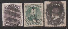Brazil   Sc# 64/66   1876   Used    Cat Val$36