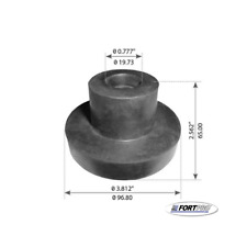 Motor Mount K066-229 M17406 05-1640 Replacement for Kenworth Fortpro F327368 NEW