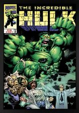 More details for rare hulk transformation boxed canvas signed stan lee limited edition hulk #461