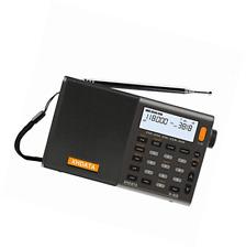 Digital Portátil xhdata D-808 radio FM estéreo/SW/MW/LW SSB RDS banda aérea Mul