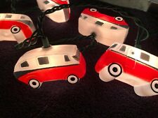 Retro Camper Christmas String Lights
