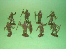 MPC Recast ZULU Type 50 Figures African Native Warriors