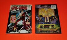 Army of Darkness Screwhead Edition & Evil Dead 2 Dvd's Both Sealed New