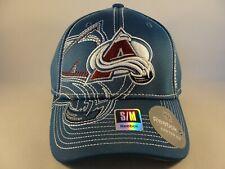 Colorado Avalanche NHL Reebok Flex Hat Cap Size S/M Blue