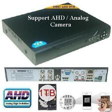 Sunvision CCTV 4 Ch AHD 1080N Network DVR for IP/AHD/Analog Camera + 1TB HDD