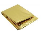 Rettungsdecke silber/gold 160x210cm Rettungsfolie Notfall Rettungsdienst #1746