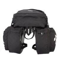 3 in 1 Multifunction 30L Road MTB Mountain Bike Bag Pannier Rear Seat Trunk HY