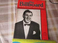 BILLBOARD Weekly Magazine ww2 17/01/1942 Tony PASTOR Cover & Great Period Ads