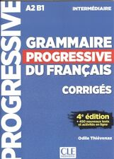 (17)/CORRIG.INTERM/GRAMMAIRE PROGRESSIVE FRANÇAIS AVEC 450