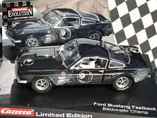 CARRERA FORD MUSTANG FASTBACK   BLACK  #8  NEW OLD STOCK BOXED