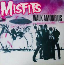 RARE MISFITS WALK AMONG US LP VINYL 1982 EXPANDED ITALY BLACK LABELS PRESS