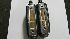 Schwinn approved Stingray,Krate reflector pedals 1968-73 and others new