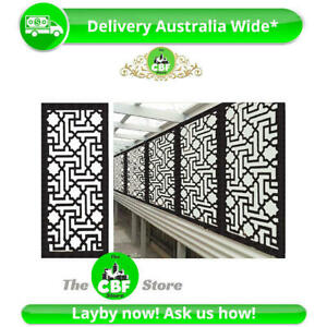 5 PACK - Istanbul- Australian Wooden Screens-Smooth-Sealed Charcoal - 600x1200mm