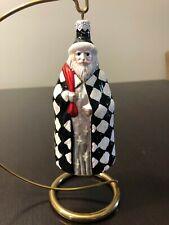 Patricia Breen Ornament St. Louis Santa #9737 1997 Black & White