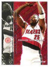 Jerome Kersey 1995-96 Fleer Portland Trail Blazers Insert Basketball Card