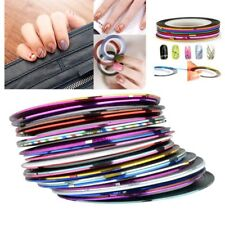 30X Zodaca® Mixed Color Rolls Striping Tape Line Nail Art Decoration Sticker