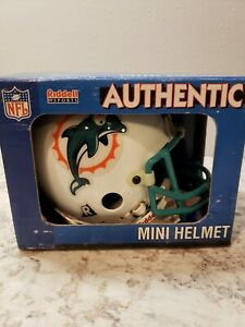 Riddell NFL Miami Dolphins Authentic Throwback Mini-Helmet