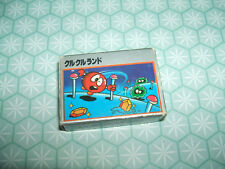 Rare 1980s Clu Clu Land Boxed Family Computer Game Cartridge eraser rubber gomme