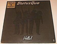 RARE VTG VINYL RECORD STATUS QUO HELLO! PROMO 1973 LP EUC ENGLAND'S BOOGIE BAND