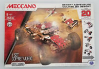 MECCANO MAKER SYSTEM DESERT ADVENTURE 20 MODELS QUAD PLANE HELICOPTER 4X4 NEW