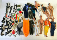 """1990's 12"""" Action Man Figure Doll Weapons Accessories GI Joe M&C Formative Lot 6"""