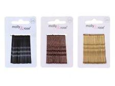 Accessoires de coiffure barrettes noirs en métal/chaîne pour femme