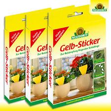 Neudorff 3 x 10 Stück Gelb-Sticker