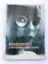 Indochine L'integrale des clips dvd Box